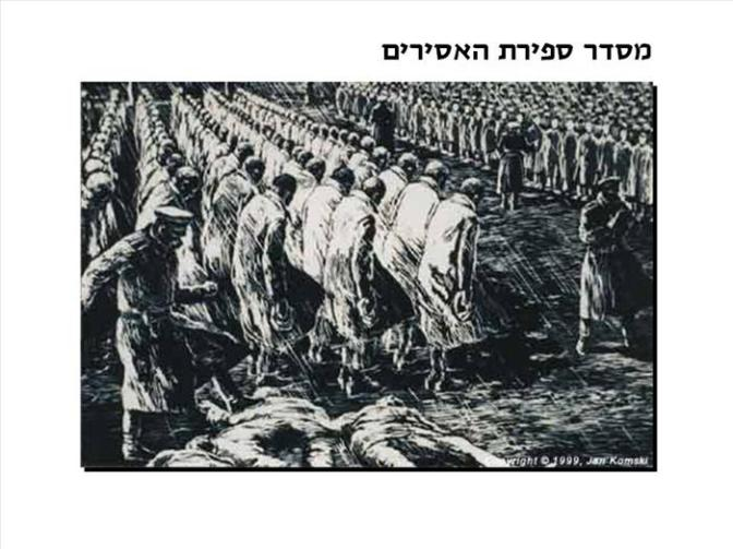 ציוריו וסיפורו של ניצול השואה יאן קומסקי