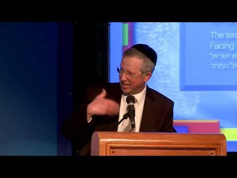 כב הרב מרדכי נויגרשל בועידת הנשיא 2013 – מעמד האשה