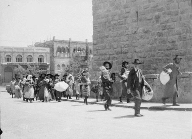 נכבה – ענין פאן ערבי הנוגע לערבים וליהודים