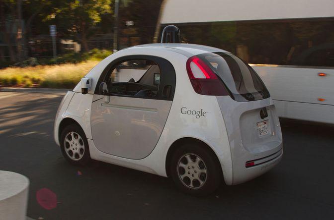 המכונית האוטומטית של גוגל חטפה דוח על נסיעה איטית מדי